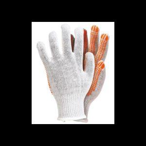 Rękawice robocze bawełniane nakrapiane