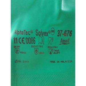 Rękawice chemiczne Solvex