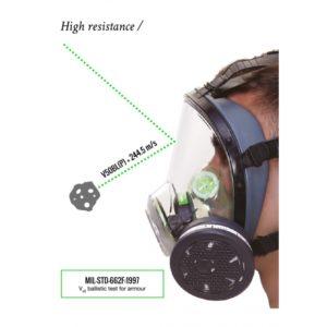 Maska pełnotwarzowa BLS 5600