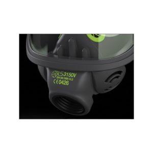 Maska przeciwgazowa 3150V (szklany wizjer) + filtr ABEK2 P3